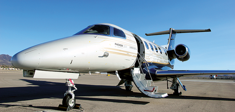 Embraer introduces Ground Power Mode to Phenom 300E Light