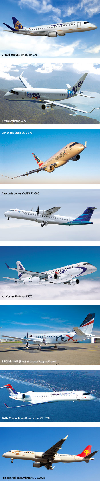 Top Regional Airlines What Clicks - SP's Aviation