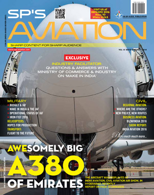 SP's Aviation ISSUE No 3-2016